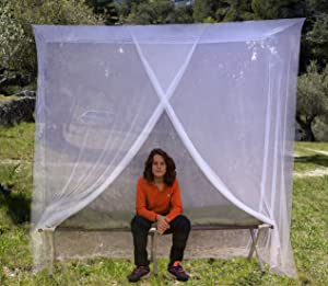 Amazon Com Even Naturals Luxury Bed Canopy Mosquito Net