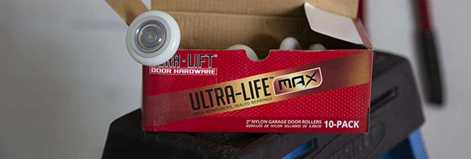DURA LIFT DURALIFT MAX nylon garage door rollers quality premium 6200ZZ bearing wheels hardware