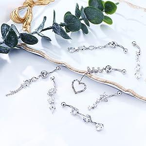 belly piercing rings piercing jewelry navel piercing barbell piercing curved barbell piercing