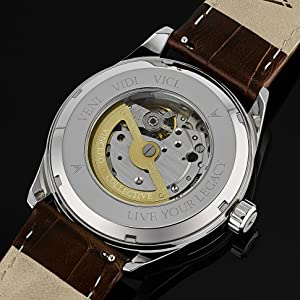 Kairos Automatic Gold Brown