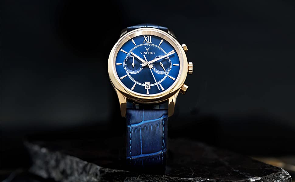 The Bellwether Rose Gold Blue