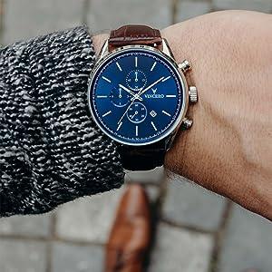 Chrono S Blue/Brown