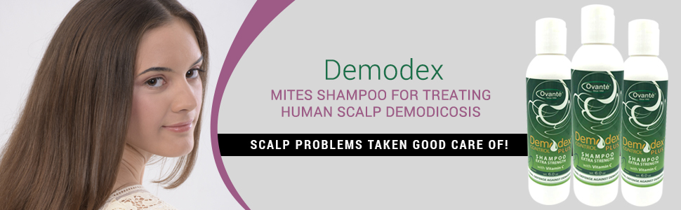Demodex Control Plus Extra Strength Shampoo With Tea Tree Oil Vitamin C