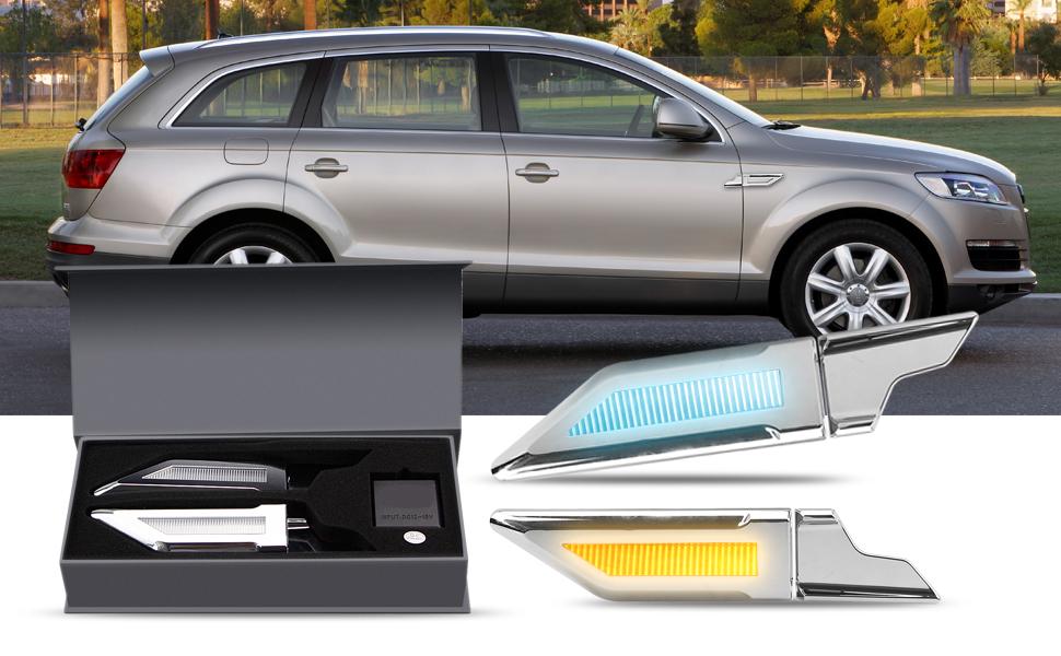 Amazon.com: LEADTOPS Luz de respaldo lateral para coche ...
