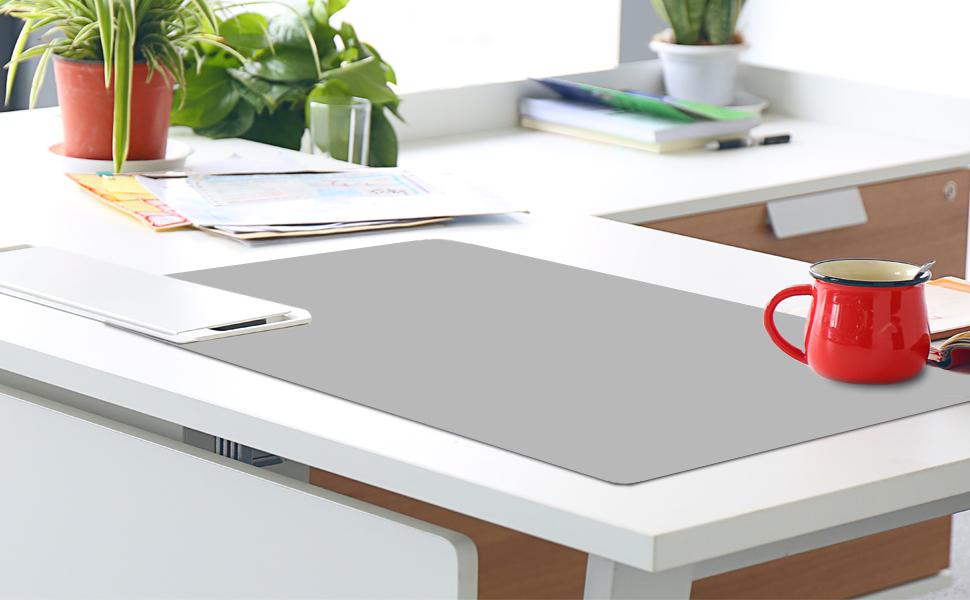 Wondrous Offidix Office Desk Mat Desktop Pu Leather Desk Pad Non Slip Download Free Architecture Designs Oxytwazosbritishbridgeorg