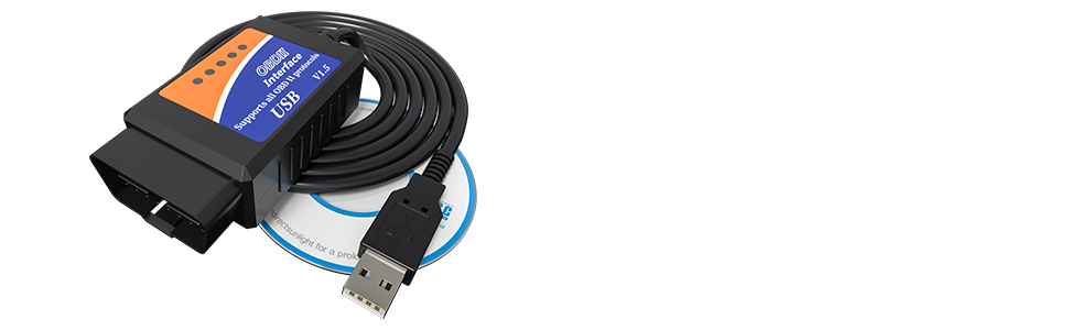 elm327 usb cable