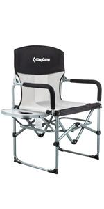 Amazon.com : KingCamp Heavy Duty Steel Camping Folding ...