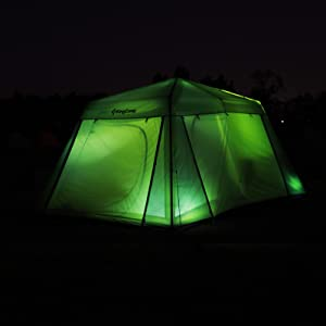 279367f393 The Camp KING 8 person tent is a must-have for you and your family in your  adventure. With the double-stiched design, you do not need to the ...