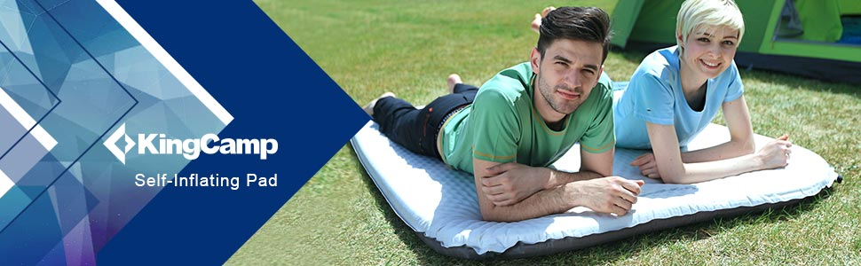 KingCamp Double Self Inflating Pad