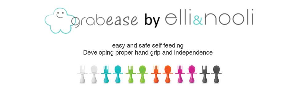 easy self feeding utensils
