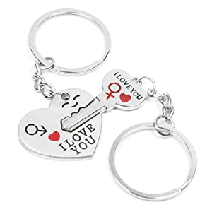 8b9c100f7f This keyring is not just only can hold your keys and also is a great  decoration. It can show your Romantic and faithful both for the personal  you send to.