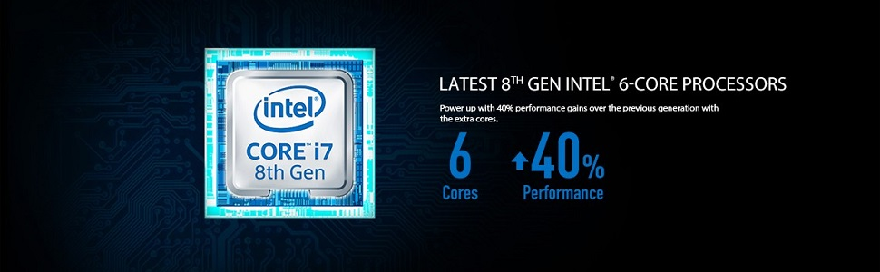 Latest 8th Gen Intel 6-Core Processors