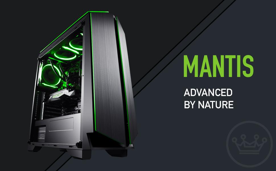 CUK Mantis New 2018 Custom Gaming Desktop PC