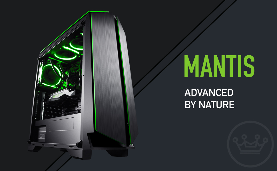 CUK Mantis New 2018 Custom Gaming Desktop PC