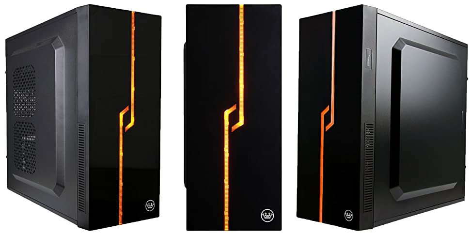 Tower Design Pc : Amazon cuk lineage black mid tower led atx micro