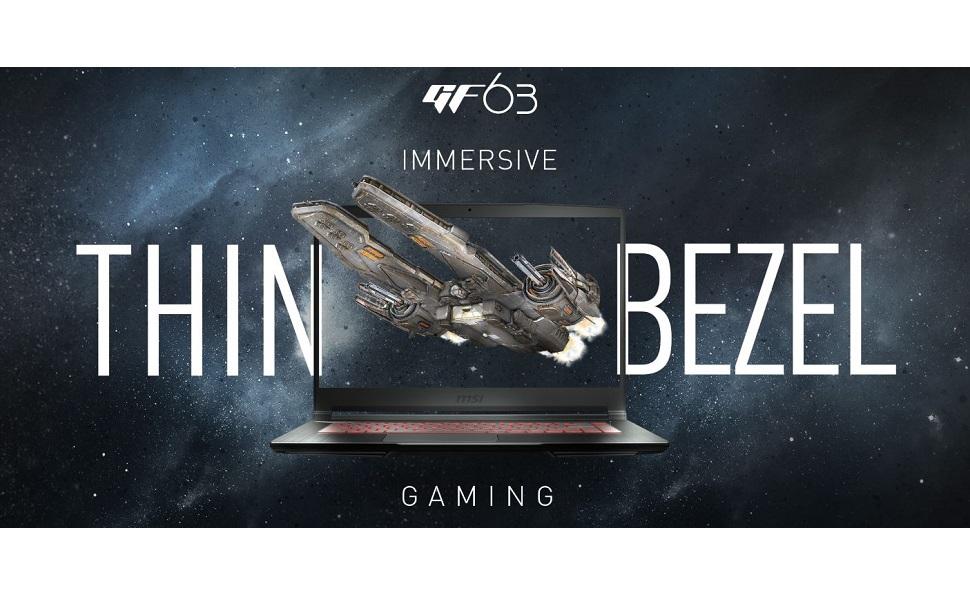 GF63 Banner