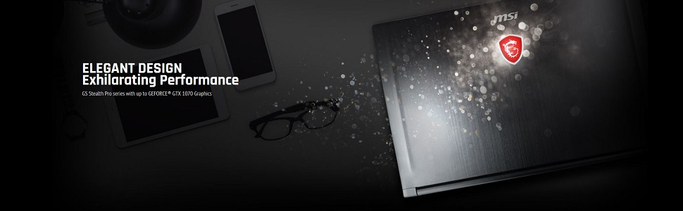 MSI GS63 Stealth Banner