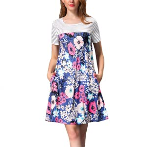 K5-Short Dress with pockets