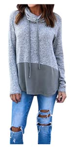 ... Bought together-Cowl Sweatshirt ...