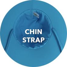 wallaroo hat company serious sun protection upf womens aqua hat active water sports chin strap