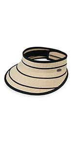wallaroo hat company serious sun protection womens savannah visor active sports