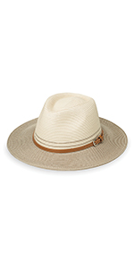wallaroo hat company womens Kristy fedora serious sun protection