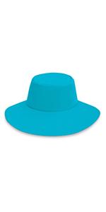 Wallaroo Hat Company serious sun protection upf womens aqua hat active water sports