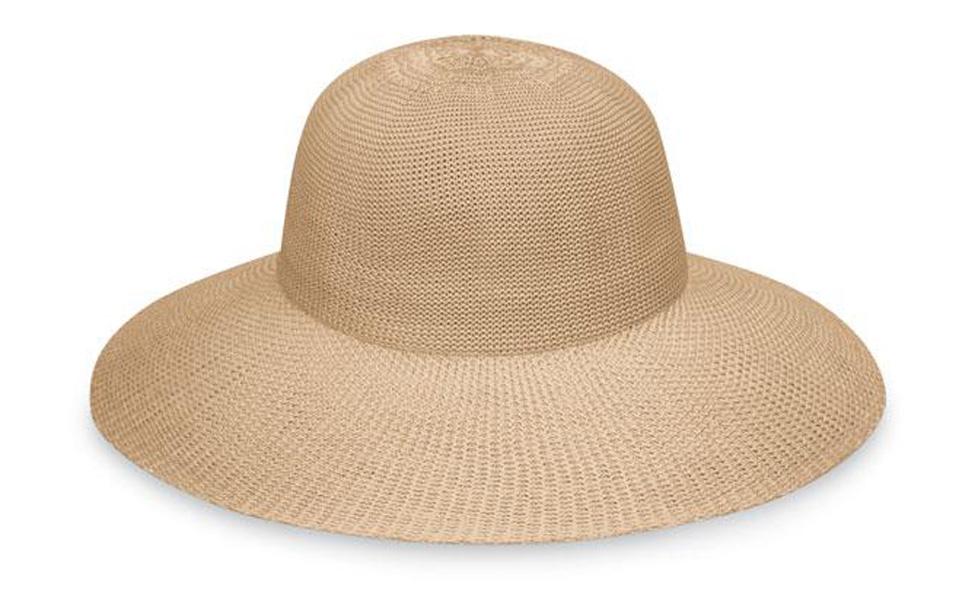 8148f052c Wallaroo Hat Company Women's Victoria Diva Sun Hat- Packable Straw Hat