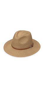 wallaroo hat company womens naples fedora serious sun protection