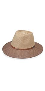 wallaroo hat company womens monroe fedora serious sun protection