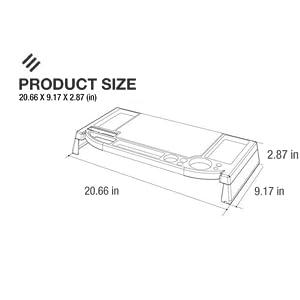 Amazon Com Eutuxia Type C Plastic Monitor Stand Tv