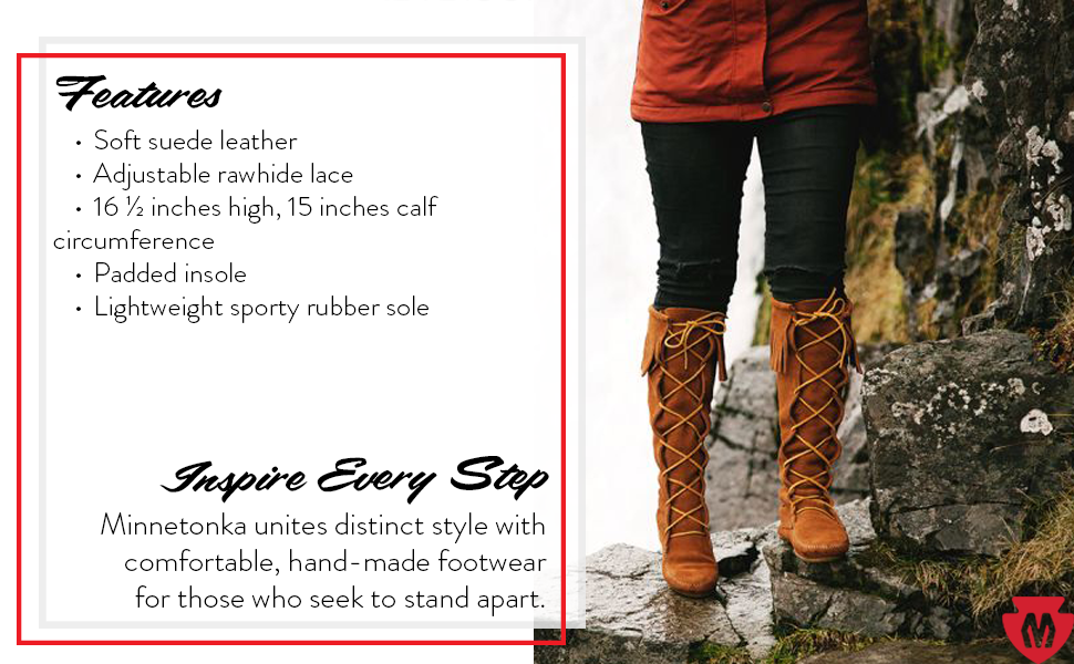 Minnetonka Women's Knee-High Boot
