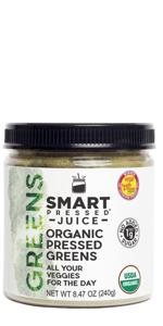 Organic Pressed Greens