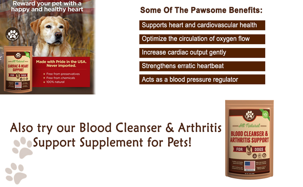 cardiac output all natural herbal organic doctor recommended working herding dog quality