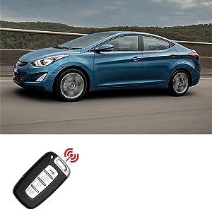 2 Replacement for Hyundai 2011-2014 Elantra 2011-2015 Elantra GT Remote Car Fob