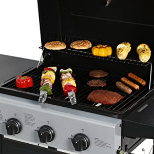 Amazon.com: Master Cook Smart Space Living asador de gas ...