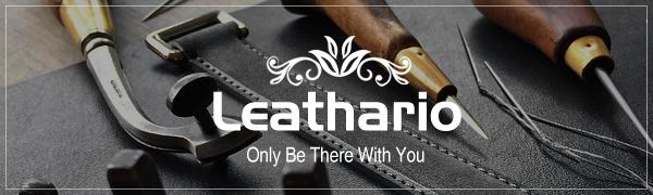 Amazon.com: Leathario - Bolso bandolera de piel para hombre ...