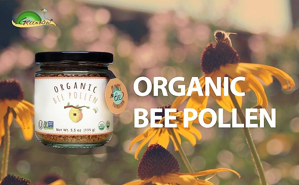 Amazon.com: GREENBOW Organic Bee Pollen - 100% USDA