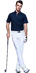buttondown polo shirt