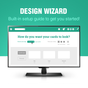 EasyBadge Software and Design Wizard