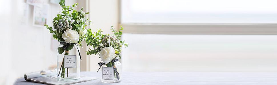 artificial flower set
