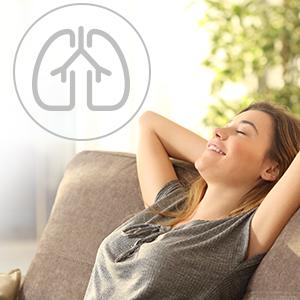 no fan allergy sufferers asthma nasal congestion heat irritation rash dust accumulation babies baby