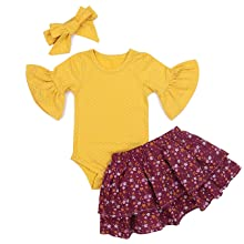 baby girl skirt set