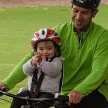 hamax hamaxusa observer child bike seat baby toddler front