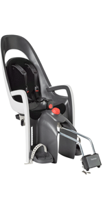 hamax hamaxusa caress child bike seat rear baby infant toddler carrier frame mount