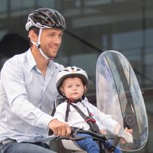 hamax hamaxusa child bike seat front baby toddler biking windscreen