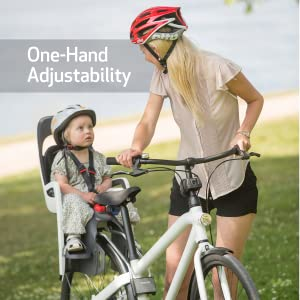 hamax hamaxusa caress child bike seat rear baby toddler infant carrier bicycle
