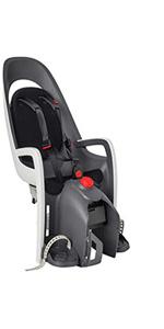 hamax hamaxusa caress child bike seat rear mount toddler baby infant bicycle carrier