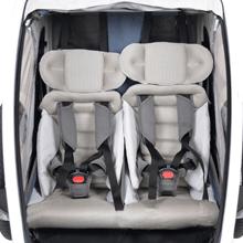 hamax hamaxusa outback bike trailer stroller jogger bicycle carrier baby infant toddler - Hamax Outback Reclining Multi-Sport Child Bike Trailer + Stroller - 2020 Model (Jogger Wheel Sold Separately) (Navy/White, One Seat)