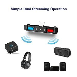 Amazon.com: HomeSpot Bluetooth 5.0 Audio Transmitter